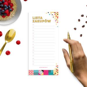 Sporządź listę zakupów