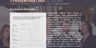 Prosty Kredyt Opinie prostykredyt.net (22 opinie)