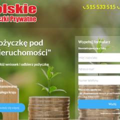 Pożyczki Prywatne – Otrzymaj pożyczkę pod zastaw nieruchomości