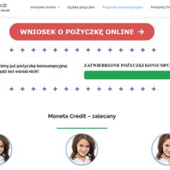 Moneta Credit – Szybko na raty przez internet online