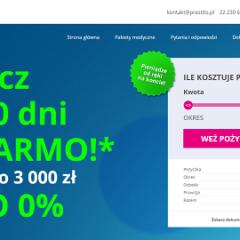 Prestito – Pożycz na 40 dni za DARMO! Nawet do 3 000 zł  RRSO 0%